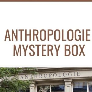 NWT Anthropologie mystery box